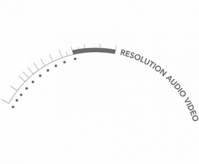Resolution Audio Video Client Logo